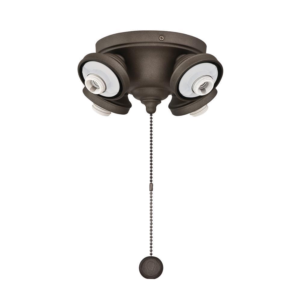 4 Ceiling Fan Light Kits Ceiling Fan Parts The Home Depot