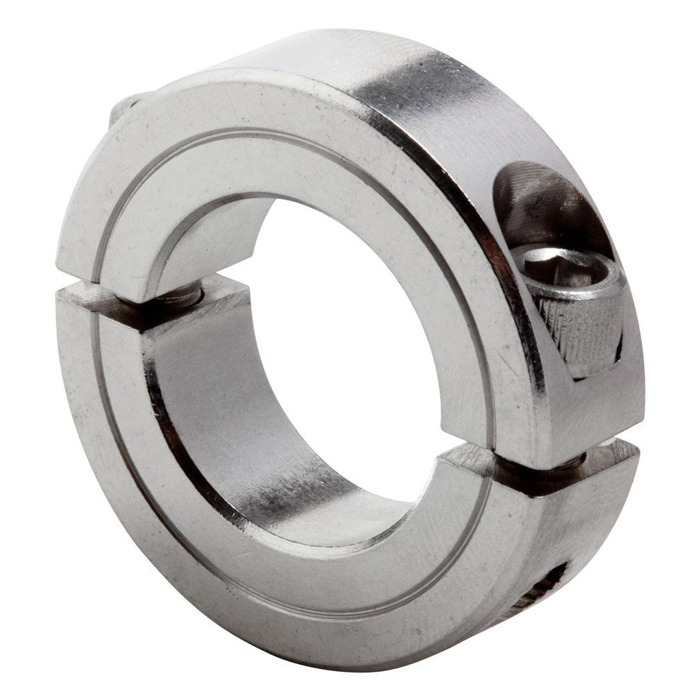 1/2 in. Bore T303 Stainless Steel Clamp Collar