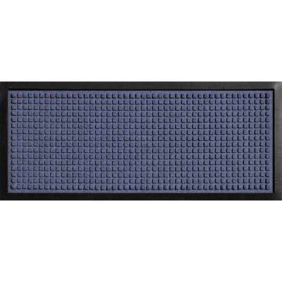 Aqua Shield Boot Tray Squares Navy 15 in. x 36 in. Door Mat