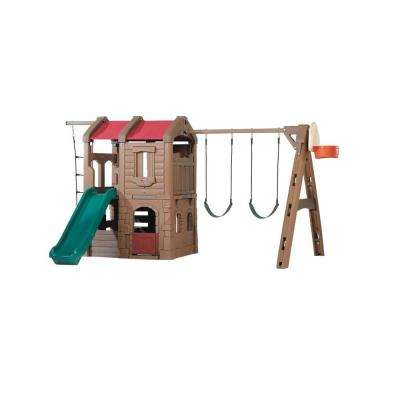Naturally Playful Adventure Lodge Playset