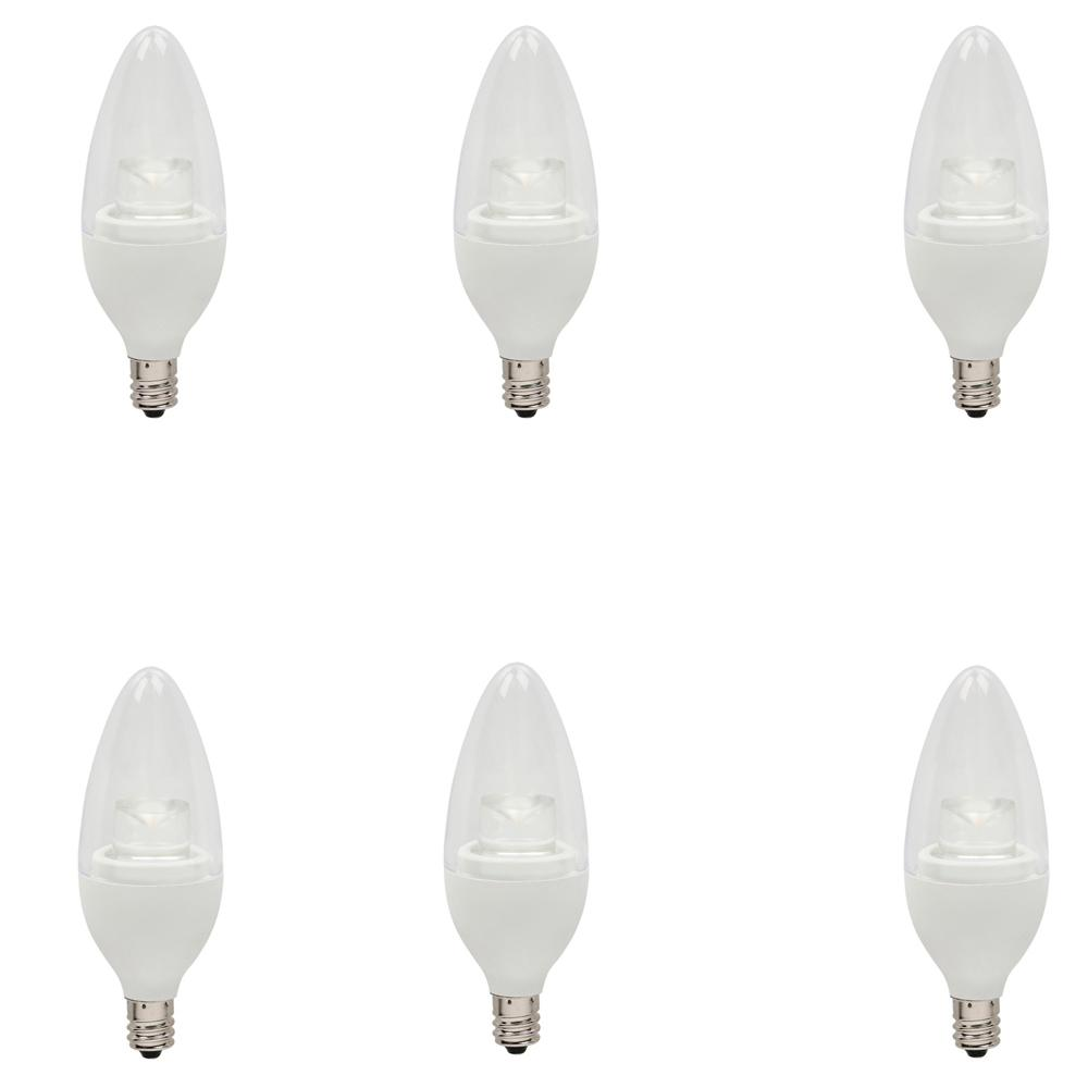 Bulbrite 40w Equivalent Warm White Light B11 Dimmable Led: Halco Lighting Technologies 100W Equivalent Warm White A21