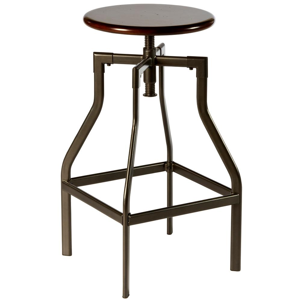Hillsdale Furniture Cyprus Pewter Distressed Cherry