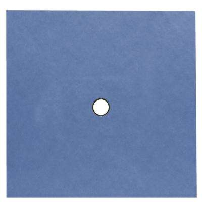 Tilux 48 in. x 48 in. Center Drain Pre-Sloped Waterproof Shower Pan Underlayment