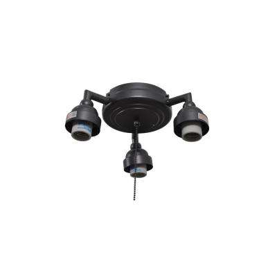 Trentino II 60 in. Natural Iron Light Kit