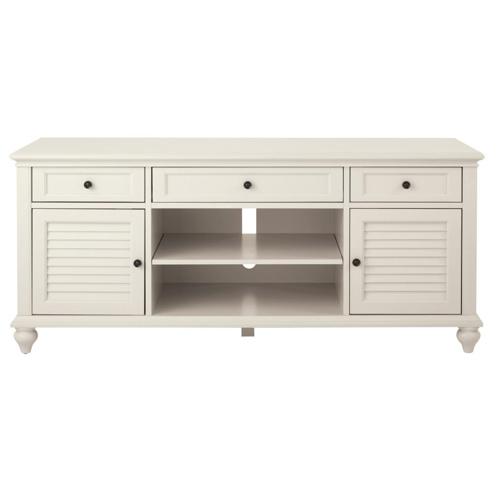 Home Decorators Collection Hamilton 26 In Polar White Tv Stand