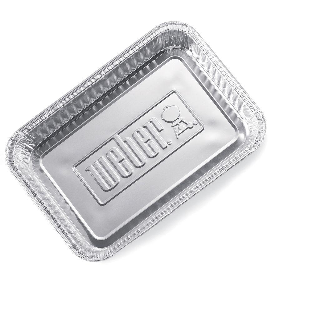 Weber Small Drip Pans (10-Pack)