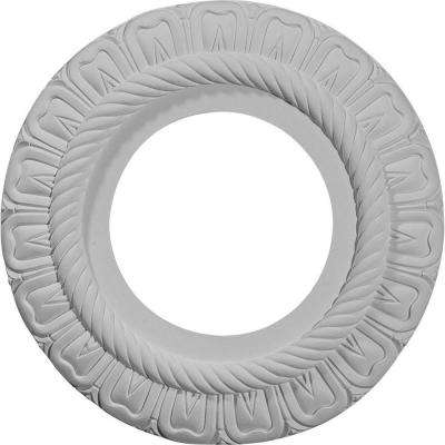 9 in. O.D. x 4-3/8 in. I.D. x 1/2 in. Depth Bulwark Ceiling Medallion