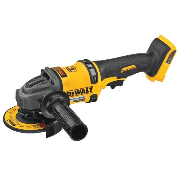 FLEXVOLT 60-Volt MAX Cordless Brushless 4-1/2 in. - 6 in. Small Angle Grinder with Kickback Brake (Tool-Only)