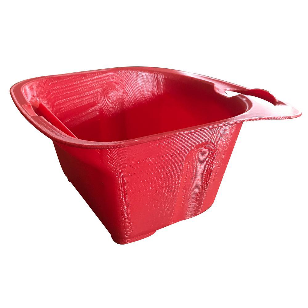 0.25 qt. Red Plastic Cup