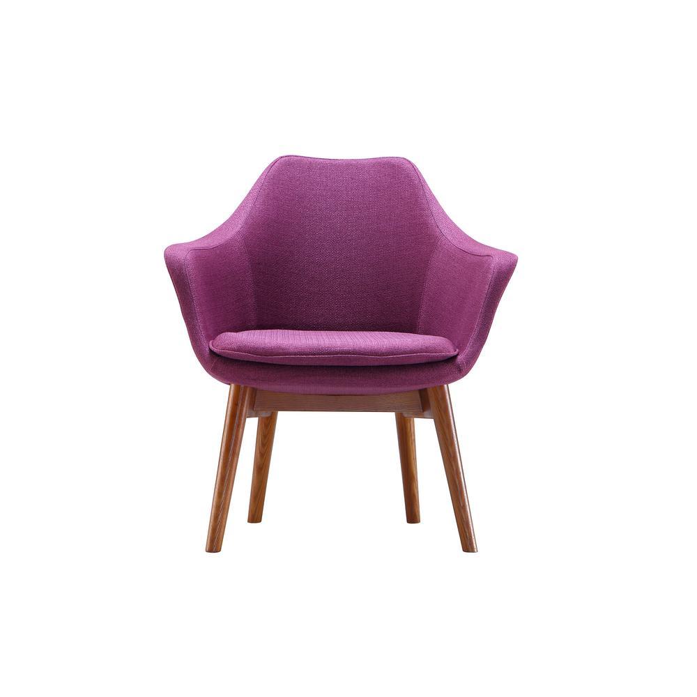 Plum Cronkite Accent Chair