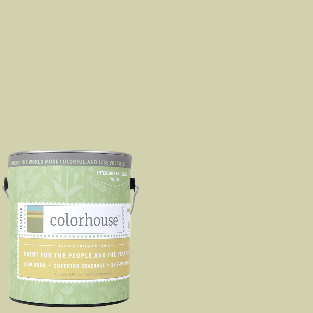 1 gal. Leaf .01 Semi-Gloss Interior Paint