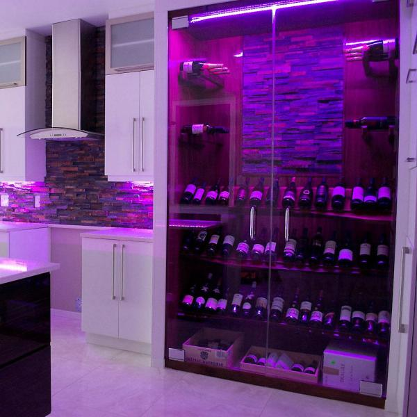 Illume Lighting 63 Led Lights 118 In Smart Rgb And White Integrated Led Rope Light With Plug In Driver I Rgbwwifi118 The Home Depot