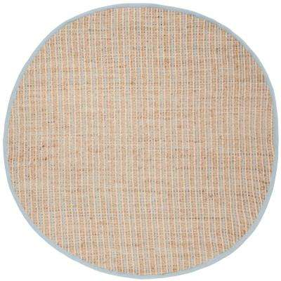 Cape Cod Natural 6 ft. x 6 ft. Round Area Rug