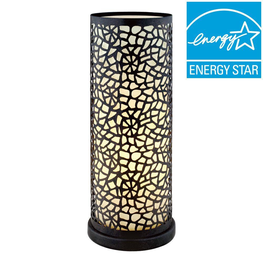 Eglo Almera 11 3/4 In. Antique Brown Table Lamp