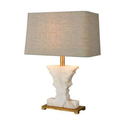 Cheviot Hills 21 in. Gold Leaf Table Lamp