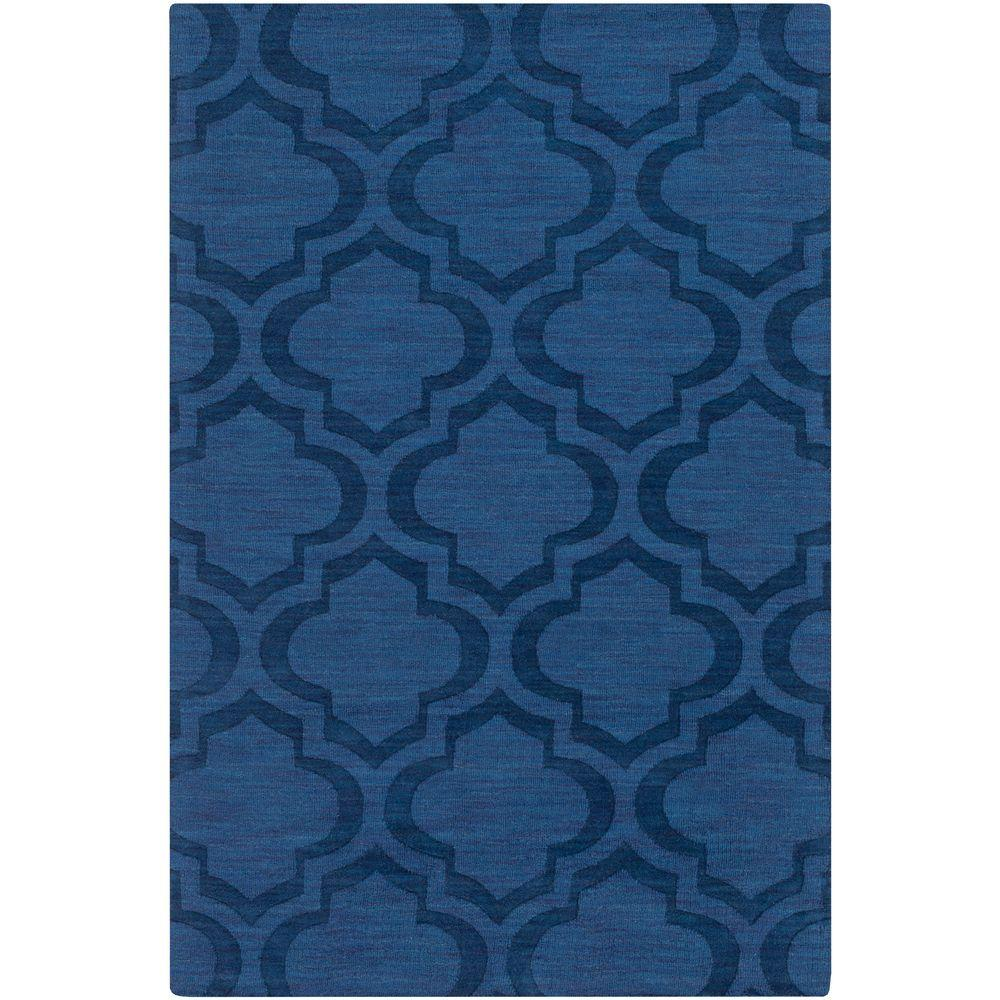 Artistic Weavers Central Park Kate Navy 10 ft. x 14 ft. Indoor Area Rug