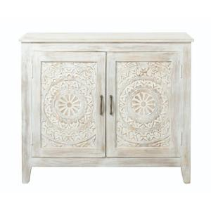 Merveilleux Home Decorators Collection Chennai White Wash Nightstand
