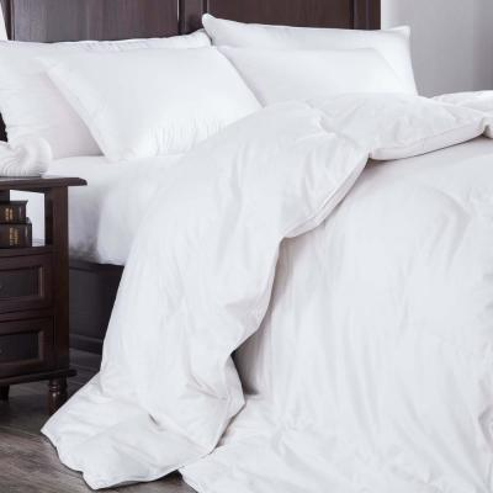 Ultra Warmth White King Down Comforter