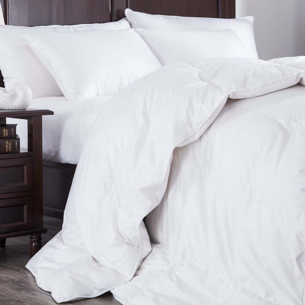 Ultra Warmth White Twin Down Comforter