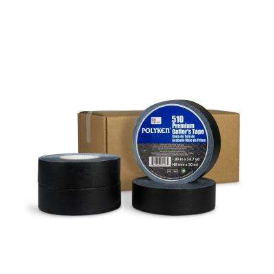 1.89 in. x 54.7 yd. 510 Professional-Grade Gaffer Tape in Black (4-Pack)