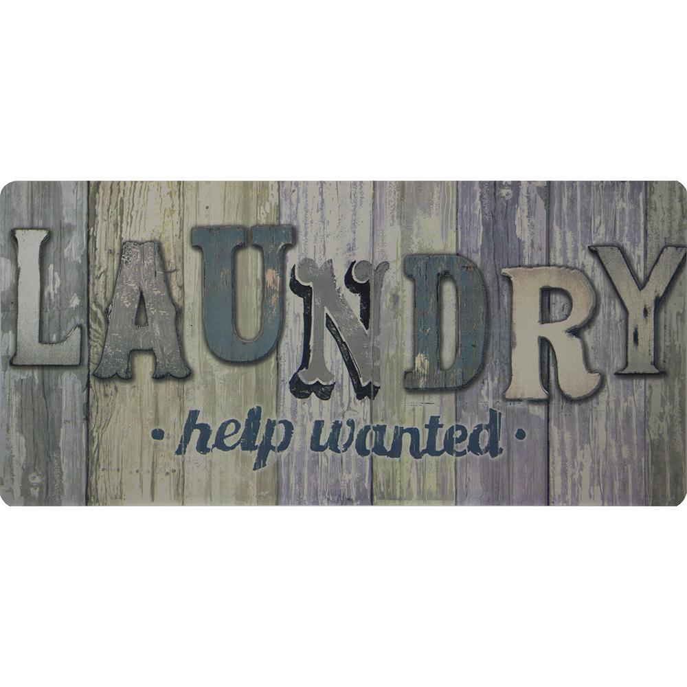 Trafficmaster Laundry Help Wanted Wood Panels 20 In  X 42
