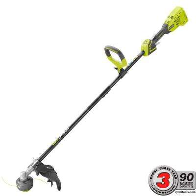ONE+ 18-Volt Lithium-Ion Brushless Cordless Electric String Trimmer Battery and Charger Not Included