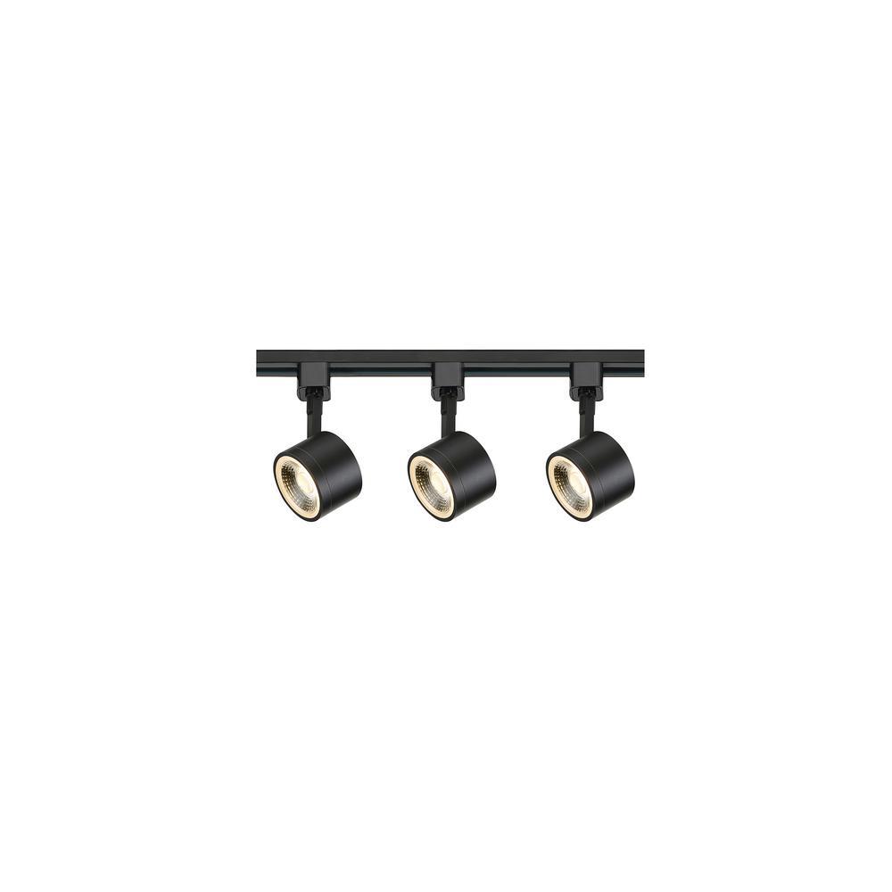 Black Integrated Led Track Lighting Kit