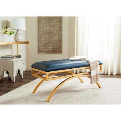 Moon Navy/Gold Bench