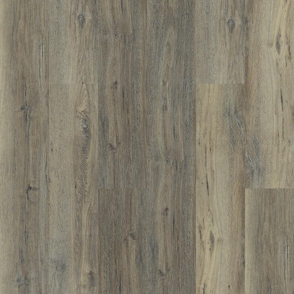 Melrose Oak Click 9 in. x 59 in. Harvest Resilient Vinyl Plank Flooring (21.79 sq. ft. / case)
