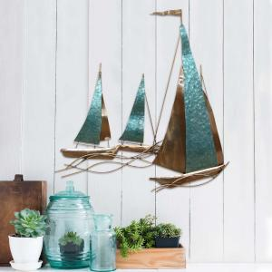 Stratton Home Decor Stratton Home Decor Sailboat Wall Decor by Stratton Home Decor