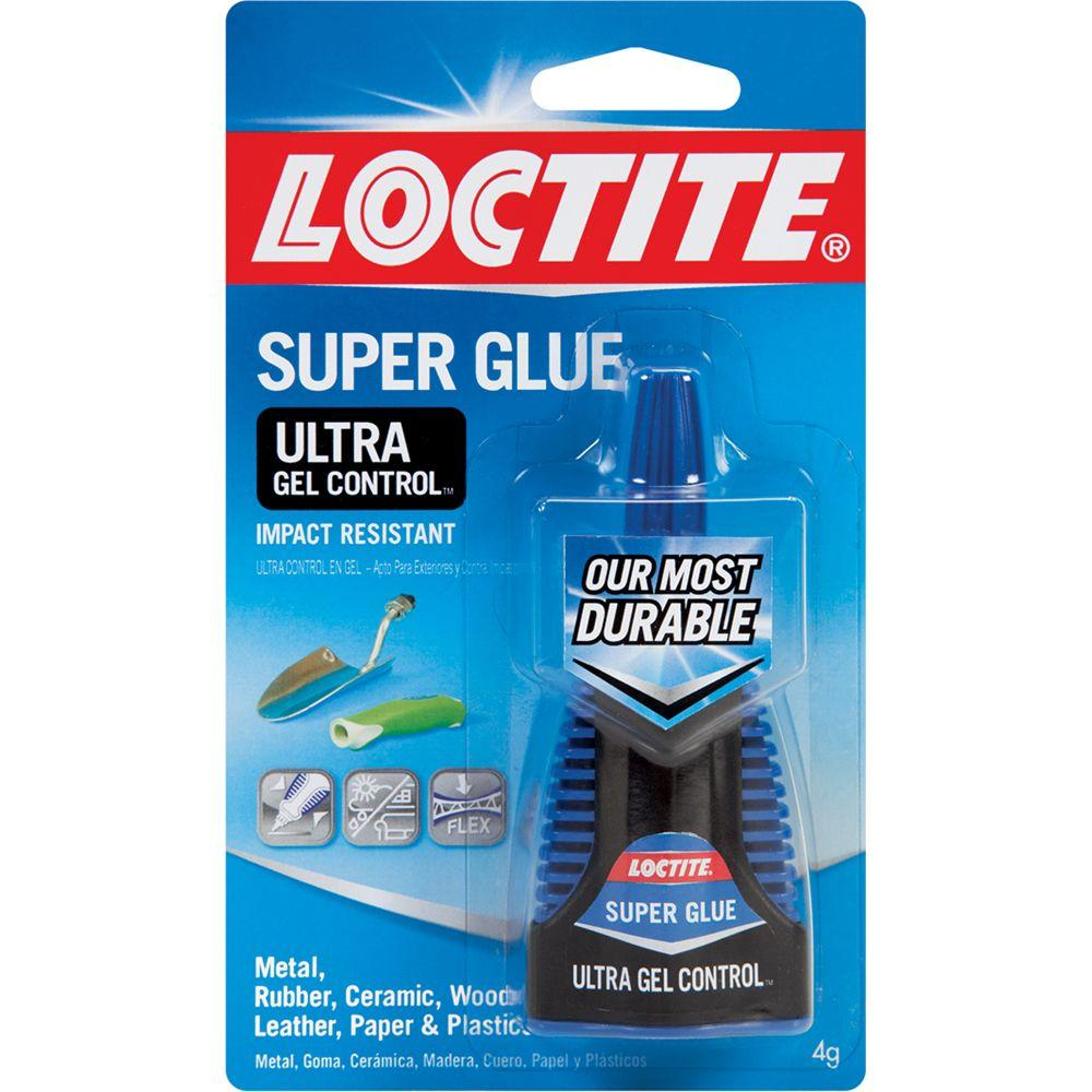 Loctite 4g Ultra Gel Control Super Glue Bottle-1363589 - The Home Depot