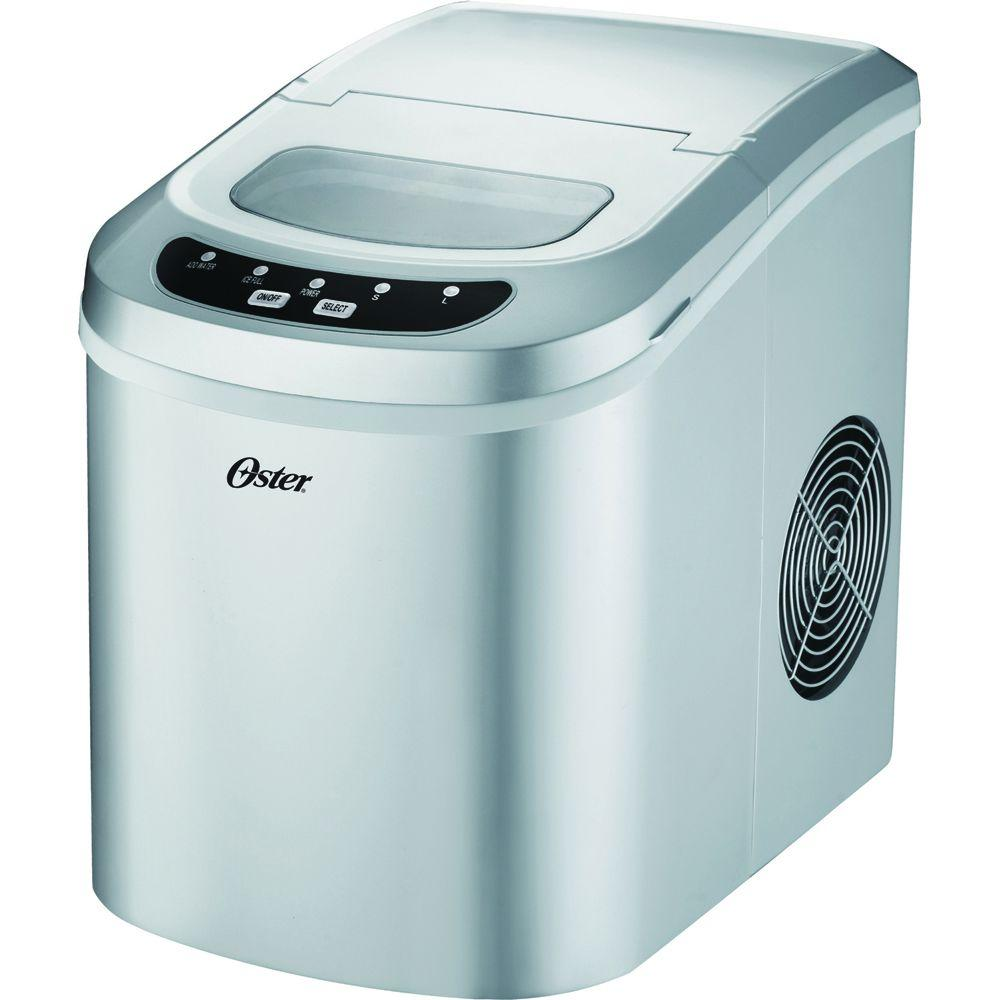 Oster 22 lb. Portable Ice Maker in Metallics-DISCONTINUED