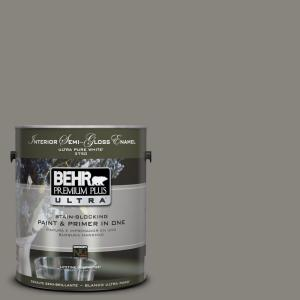1-gal. #UL200-4 Pier Interior Semi-Gloss Enamel Paint