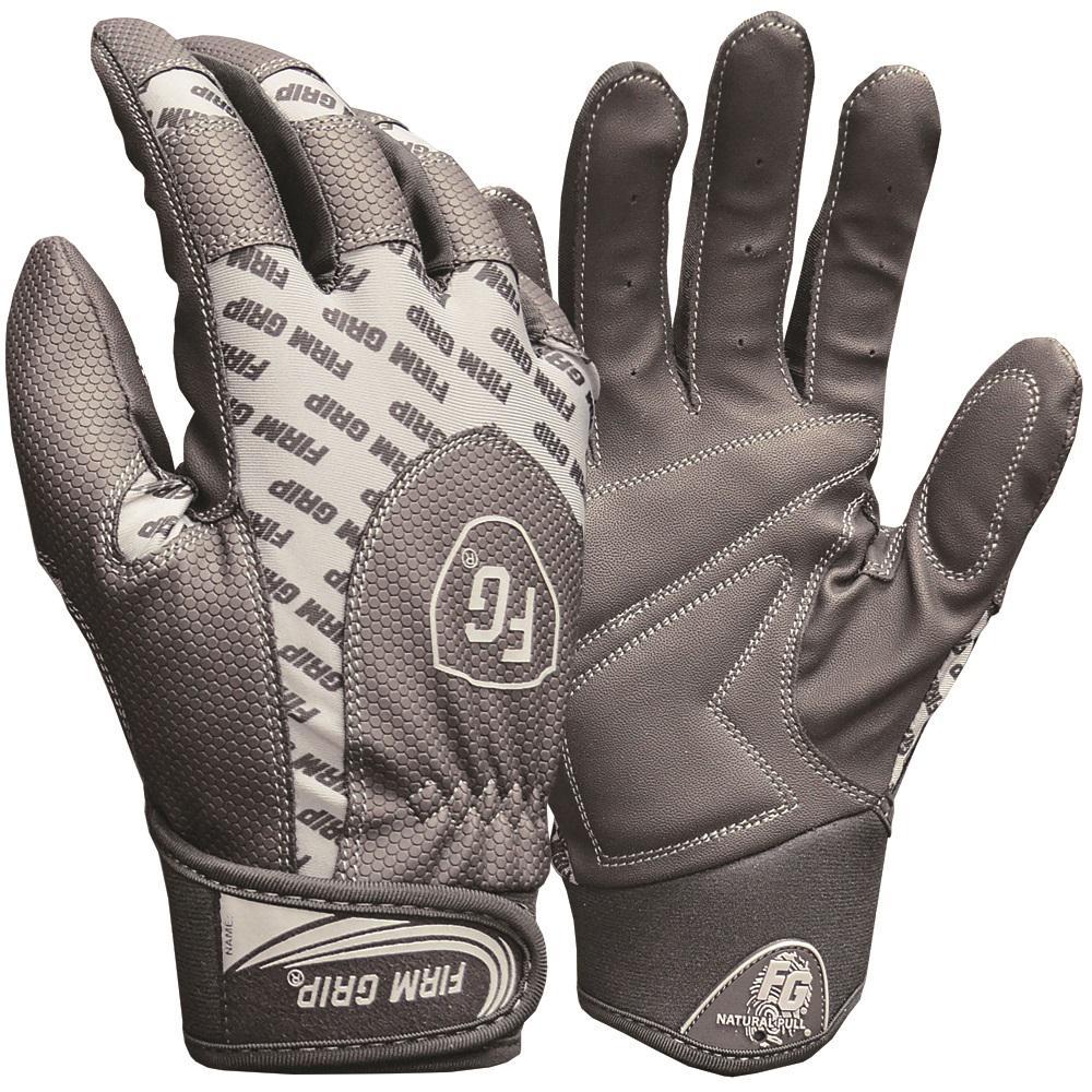X-Large Black Gloves (2-Pack)