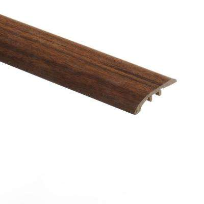 Black Walnut/Camelot 5/16 in. Thick x 1-3/4 in. Wide x 72 in. Length Vinyl Multi-Purpose Reducer Molding