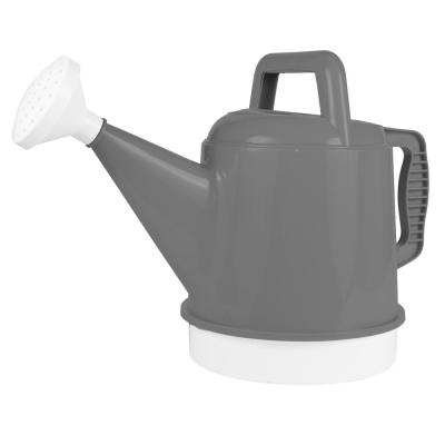 Deluxe 2.5 Gal. Charcoal Plastic Watering Can