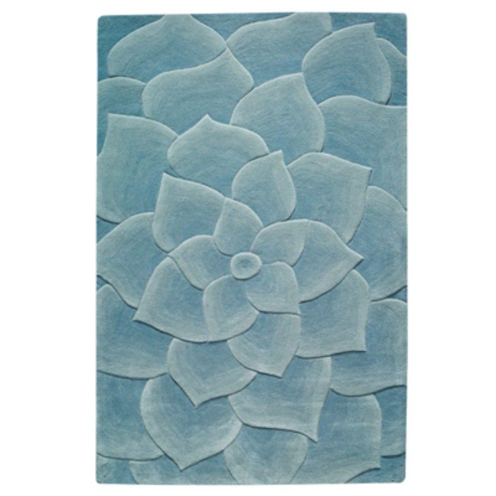 Home Decorators Collection Corolla Light Blue 8 Ft. X 11