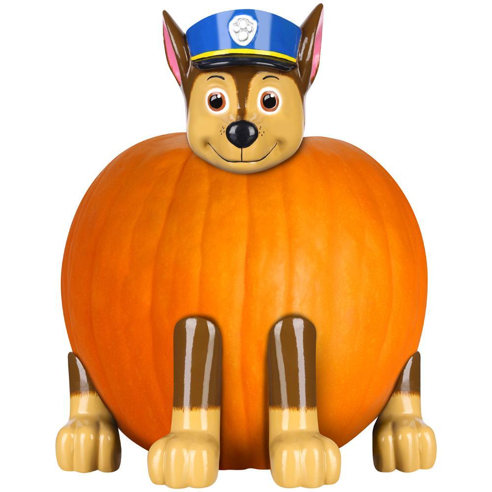chase paw patrol pumpkin push in kit
