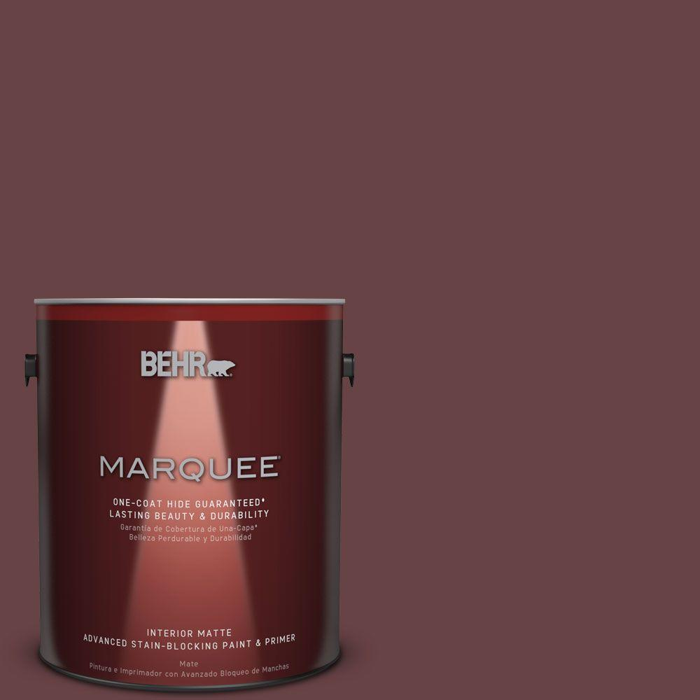 1 gal. #MQ1-14 Twinberry One-Coat Hide Matte Interior Paint