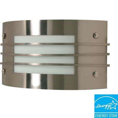 Elektra 1-Light Brushed Nickel Sconce