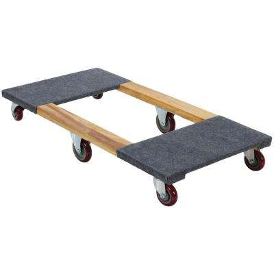 24 in. x 48 in. 1,200 lb. Carpet End Hardwood Dolly