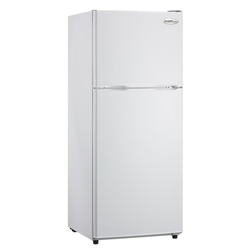 PREMIUM 11.5 cu. ft. Frost Free Top Freezer Refrigerator in White PREMIUM 11.5 cu. ft. Frost Free Top Freezer Refrigerator in White