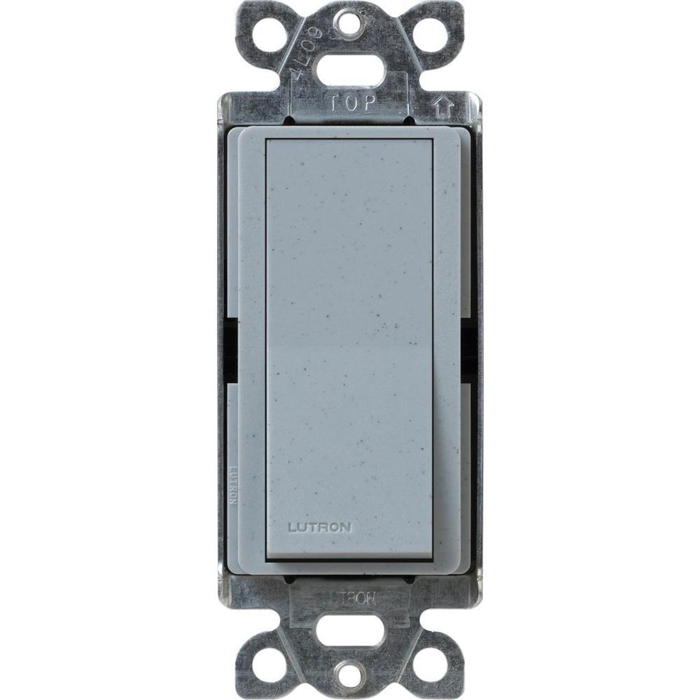 Claro On/Off Switch, 15-Amp, Single-Pole, Bluestone