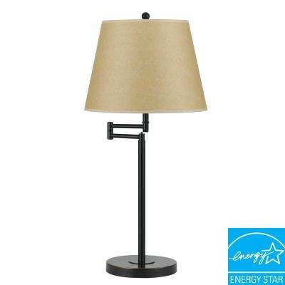 28 in. Andros Table Lamp in Dark Bronze