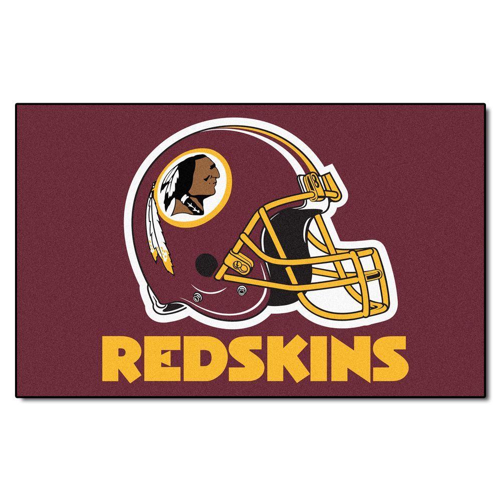 Fanmats Washington Redskins 5 Ft X 8 Ft Ulti Mat 5874