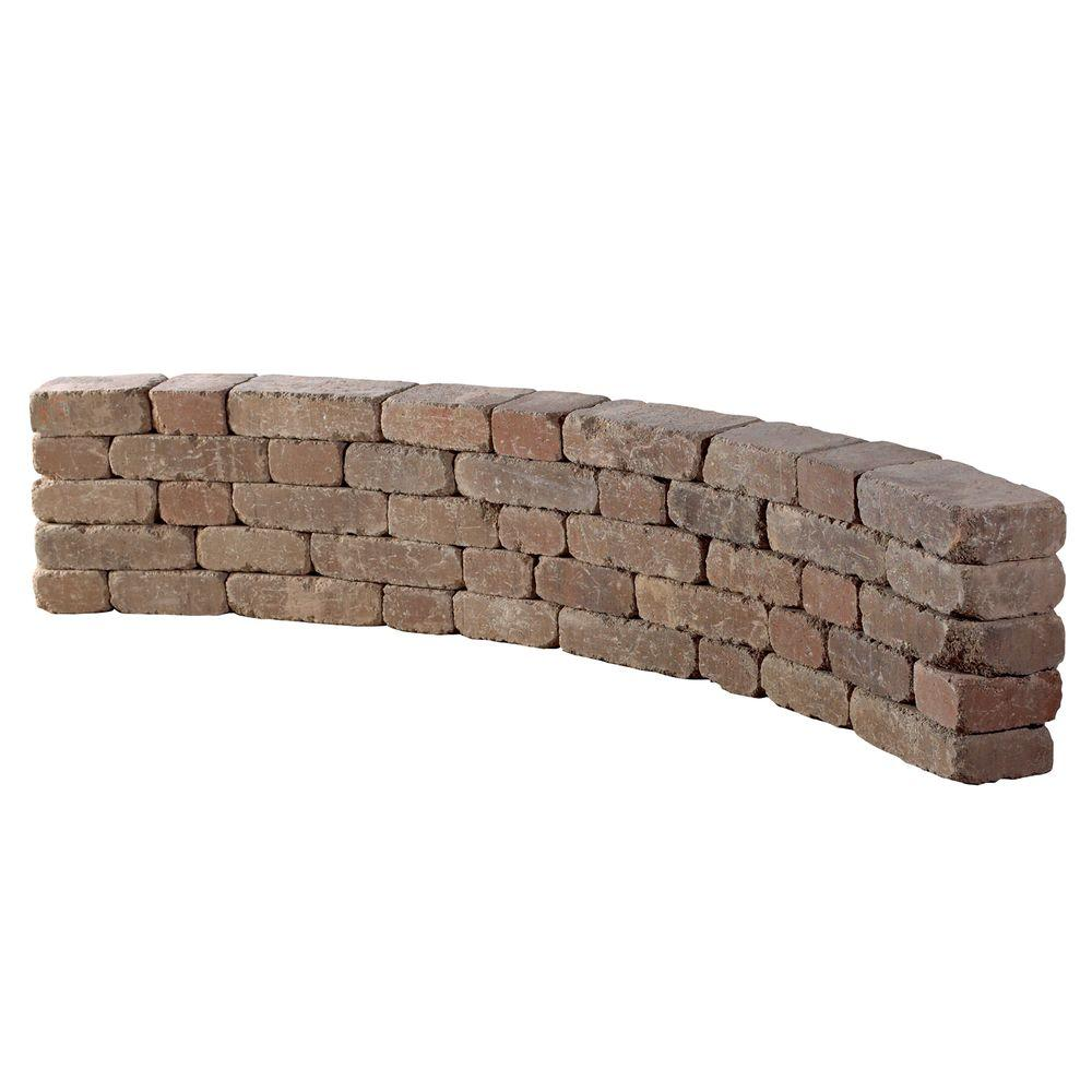 Necessories 9 ft. Desert Riverland Seat Wall