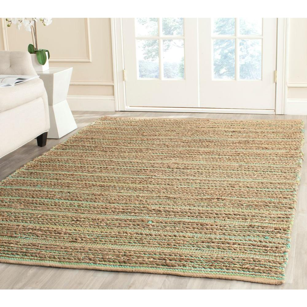 Cape Cod Green 8 ft. x 10 ft. Area Rug