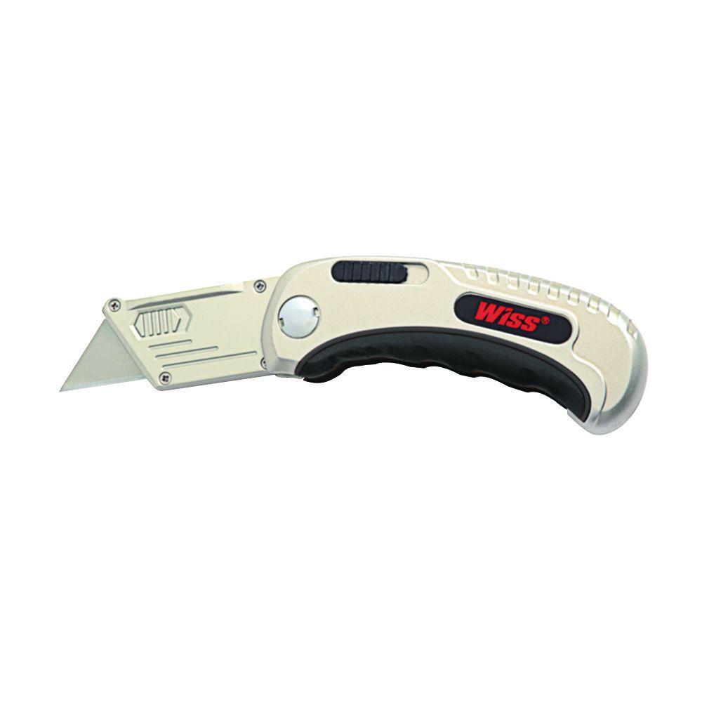 Quick-Change Folding Utility Knife