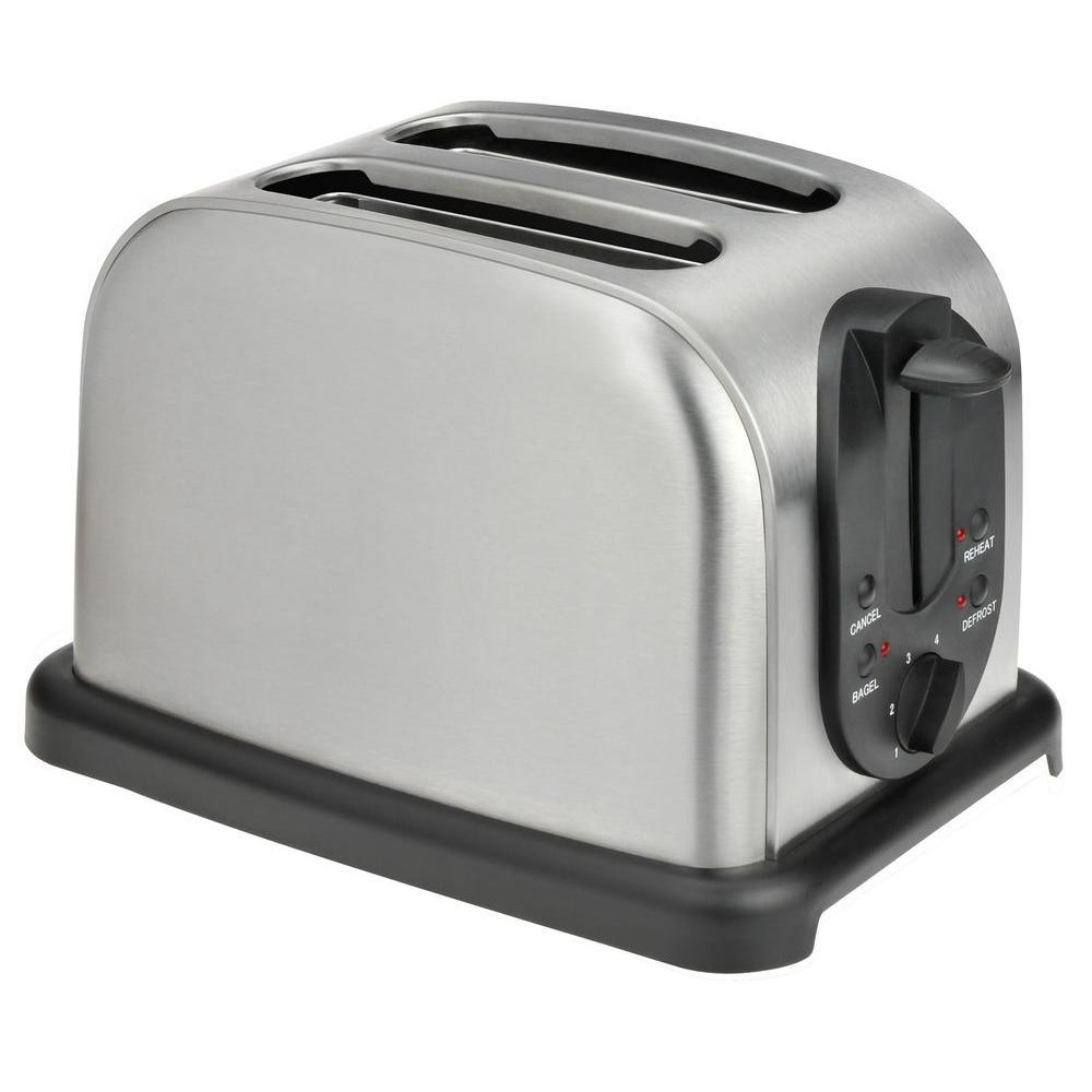 KALORIK 2-Slice Toaster in Stainless Steel-DISCONTINUED
