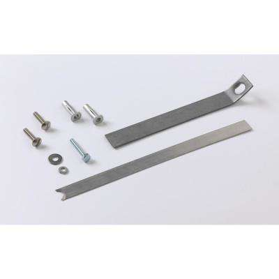 Toilet Seat Anchor Kit for 1-Piece Toilets